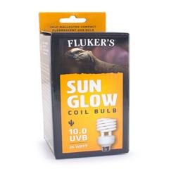 Fluker's Sun Glow 10.0 UVB Desert Coil Bulb White 1ea/26 W