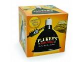 Fluker's Deep Dome Lamp 10in
