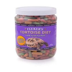 Fluker's Land Turtle Formula Tortoise Diet Dry Food 1ea/10 oz