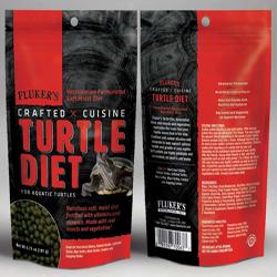 Fluker's Crafted Cuisine Aquatic Turtle Diet Dry Food 1ea/6.75 oz