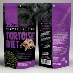 Fluker's Crafted Cuisine Tortoise Diet Dry Food 1ea/6.75 oz