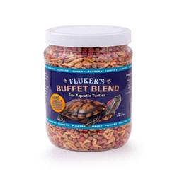 Fluker's Buffet Blend Aquatic Turtle Formula Freeze Dried Food 1ea/12 oz
