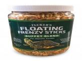 Flukers Floating Frenzy Sticks Buffet Blend for Aquatic Turtles 11.5oz