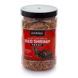 Fluker's Sun-Dried Red Shrimp Reptile Treat 1ea/10 oz