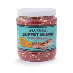 Fluker's Buffet Blend Juvenile Bearded Dragon Veggie Variety Freeze Dried Food 1ea/9 oz