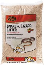 Zilla Snake & Lizard Litter 24qt
