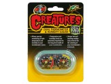 Zoo Med Creatures Dual Thermometer & Humidity Gauge Glow in the Dark Green 1ea