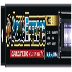 Zoo Med AquaEffects Model 2 LED Light Fixture Black 1ea/24 in