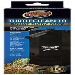 Zoo Med TurtleClean 10 Deluxe Turtle Filter 1ea
