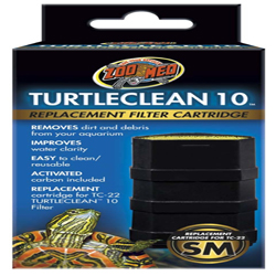 Zoo Med TurtleClean 10 Replacement Filter Cartridge 1ea/Small
