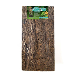 Zoo Med Natural Cork Tile Background Brown 1ea/16 in X 36 in