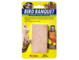 Zoo Med Bird Banquet Block Fruit Formula Large