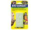 Zoo Med Bird Banquet Block Veggie Formula Large