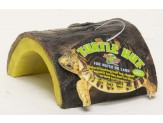 Zoo Med Turtle Hut Brown, Yellow 1ea/Small