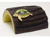 Zoo Med Turtle Hut Brown, Yellow 1ea/Giant