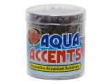 Zoo Med Aqua Accents River Pebbles Dark 1ea/8 oz