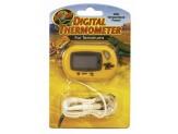 Zoo Med Digital Terrarium Thermometer Yellow 1ea