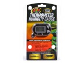 Zoo Med Digital Combo Thermometer Humidity Gauge Black 1ea