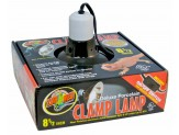 Zoo Med Deluxe Porcelain Clamp Lamp 8.5in