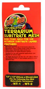Zoo Med Naturalistic Terrarium Substrate Mesh 12x12