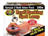 Zoo Med Repti Basking Spot Lamp 100W 2pk