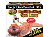 Zoo Med Repti Basking Spot Lamp 50W 2pk