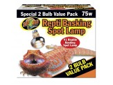 Zoo Med Repti Basking Spot Lamp 75W 2pk