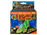 Zoo Med Daylight Blue Reptile Bulb 2pk