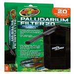 Zoo Med Paludarium 20 Internal Filter Black 1ea