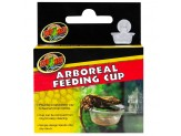 Zoo Med Arboreal Feeding Cup Clear 1ea