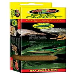 Zoo Med Eco Carpet Reptile Terrarium Carpet Tan 1ea/40 gal, 15 in X 36 in
