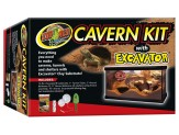 Zoo Med Cavern Kit With Excavator