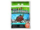 Zoo Med Aquatic River Pebbles 10lbs