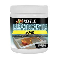 Zoo Med Reptile Electrolyte Soak 16oz