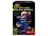 Zoo Med ReptiRapids LED Skull Waterfall Small