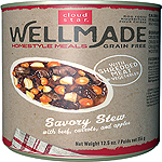 Cloud Star WellMade Homestyle Meals Savory Stew With Beef Recipe Grain-Free Canned Dog Food 12.5oz