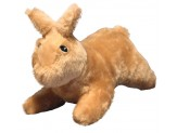 Mighty Nature Dog Toy Rabbit Brown 1ea/13 in