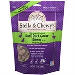 Stella & Chewys Cat Freeze Dried Duck Duck Goose Dinner 9 Oz.