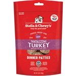 Stella And Chewy'S Freeze Dried Tantalizing Turkey Dinner Patties 5.5Oz