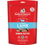 Stella & Chewy'S Freeze Dried Dandy Lamb Dinner Patties Raw Dog Food 25 Oz