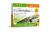 Vetality Firstect Plus Flea & Tick for Dogs 1ea/0.069 fl oz, 3 ct