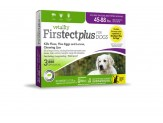 Vetality Firstect Plus Dogs 45-88 lbs 3 Doses