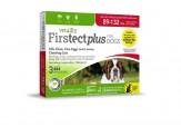 Vetality Firstect Plus Flea & Tick for Dogs 1ea/0.408 fl oz, 3 ct