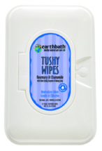 earthbath Tushy Wipes Rosemary & Chamomile 72ct