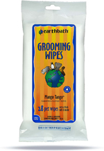 earthbath Grooming Wipes Green Tea 28ct