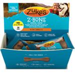 Zukes Dog Z-Bone Mini Carrot 36 Pack