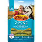 Zukes Dog Z-Bone Large Apple 6 Count Pouch