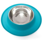 Messy Mutts Dog Feeder Blue 1.5 Cup