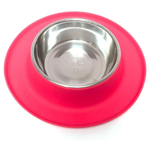 Messy Mutts Dog Feeder Red 1.5 Cup