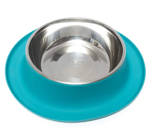 Messy Mutts Dog Feeder Blue 6 Cup